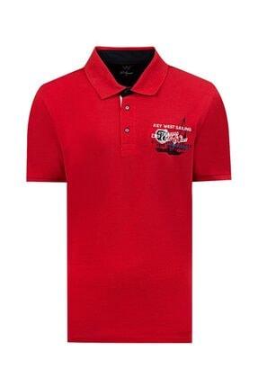 D'S Damat Regular Fit Kırmızı T-shirt