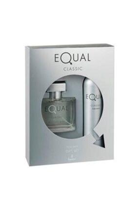 Equal Edt  75ml Unisex 2 Li Parfüm Seti
