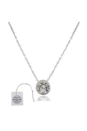 Swarovski Türker Jewelry Swr0020 Zirkonia Taşlı Bayan Kolye