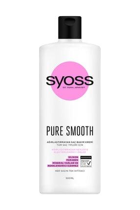 Syoss Pure Ağirlaştirmayan Derinlemesine Bakim Saç Kremi 500Ml