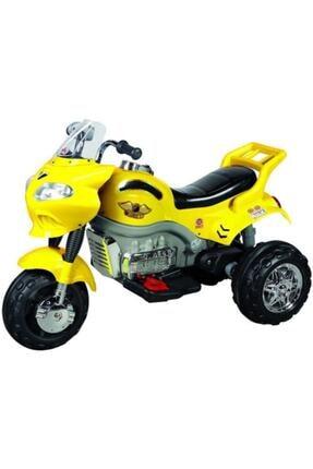 Aliş Toys Sarı Akülü Go Way Motorsiklet 404