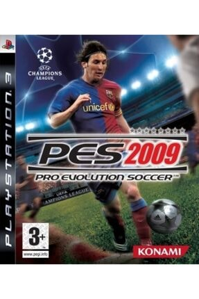 KONAMI Ps3 Pes 2009 - Orjinal Oyun - Sıfır Jelatin