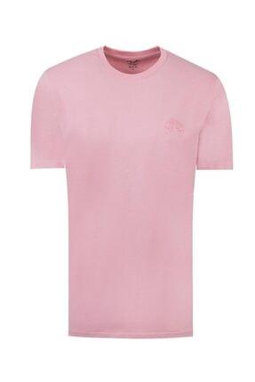 D'S Damat Regular Fit Pembe T-shirt