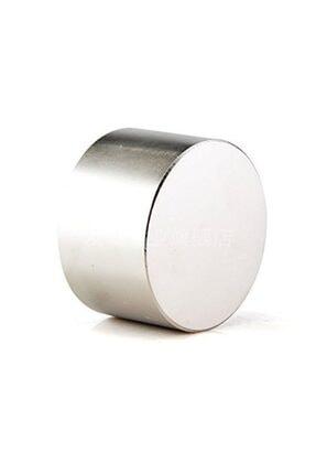 Dünya Magnet Çap 50mm X Kalınlık 30mm Çok Güçlü Büyük Neodyum Mıknatıs