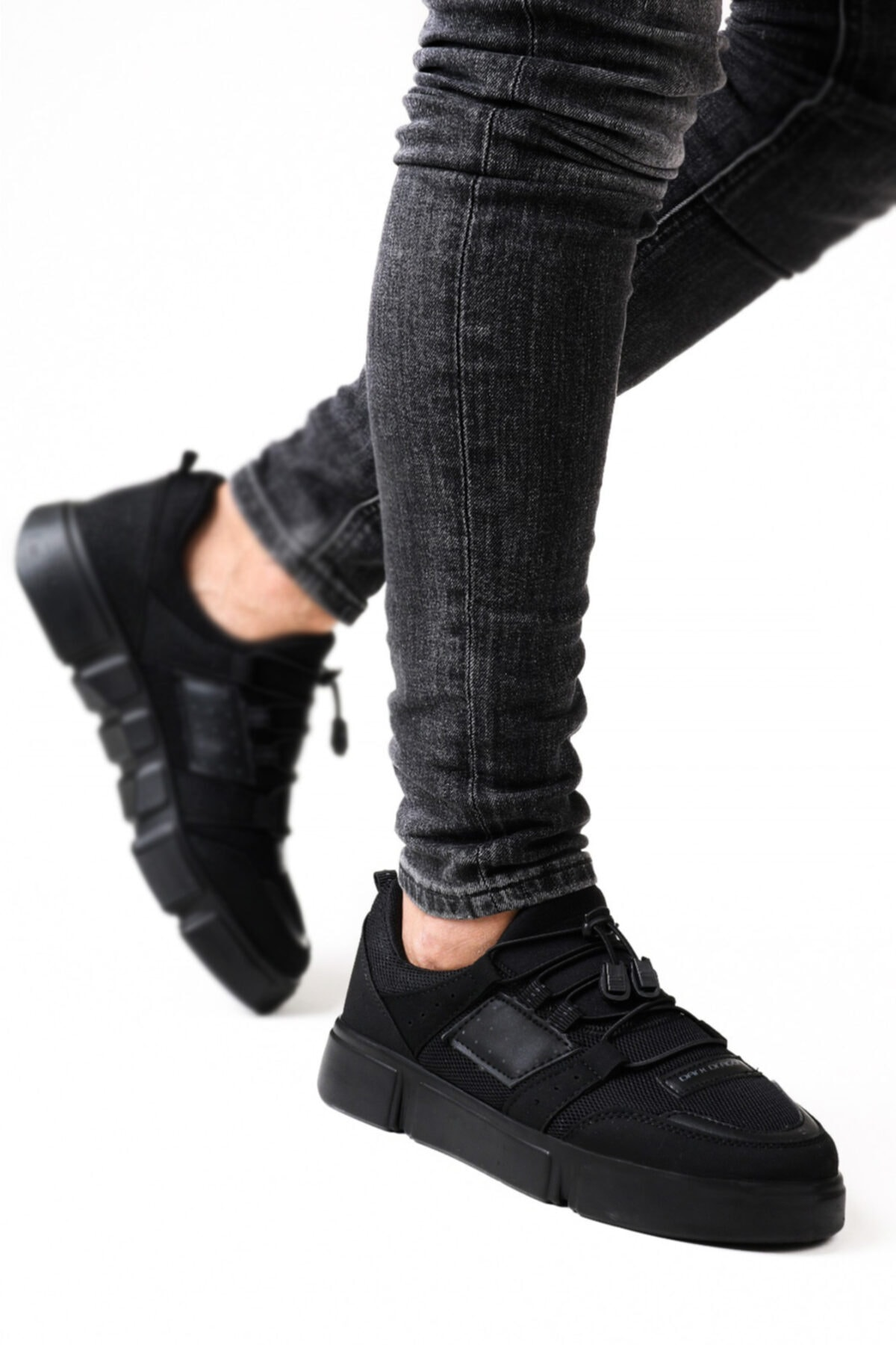 Ayakkabix Bağcıksız Lastikli Spor Ayakkabı 2