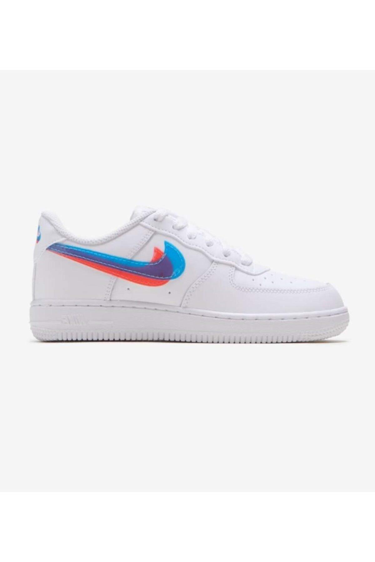 Nike Force 1 Lv8 / Cj7160-100 Spor Ayakkabı 1