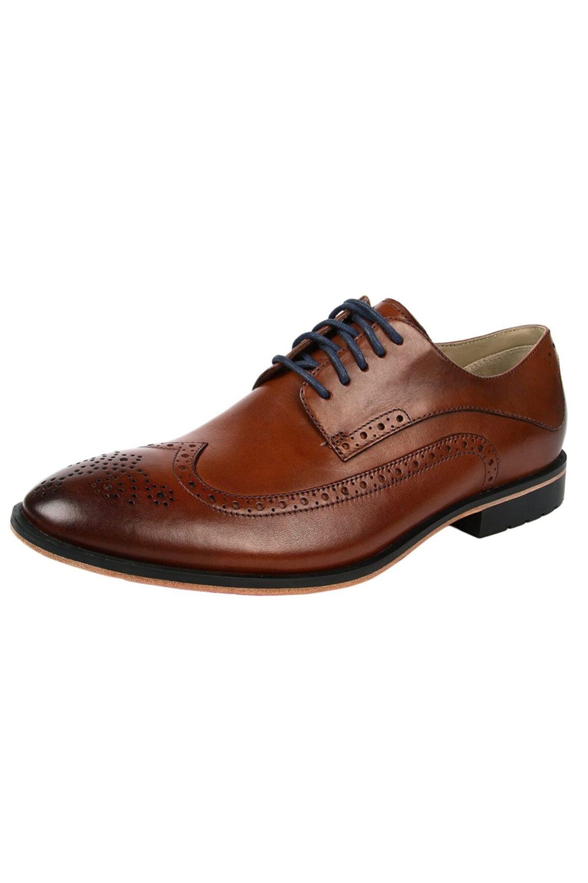 CLARKS Erkek Ayakkabı Bağcıklı Şık Rahat Gardırop Favorisi Ortholite Gatley Limit Tan 2