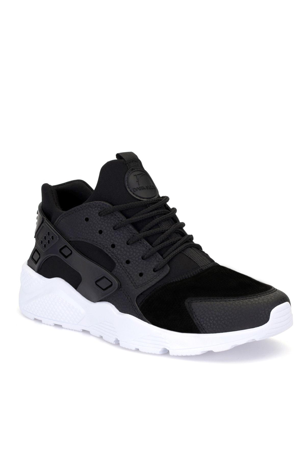 DARK SEER Unisex Siyah Bağcıklı Sneaker HR1.DS 1