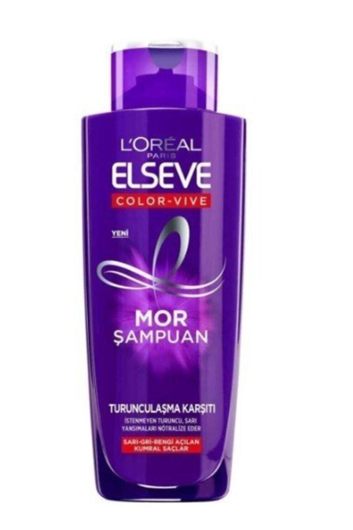 ELSEVE Turunculaşma Karşıtı Mor Şampuan 200ml 1