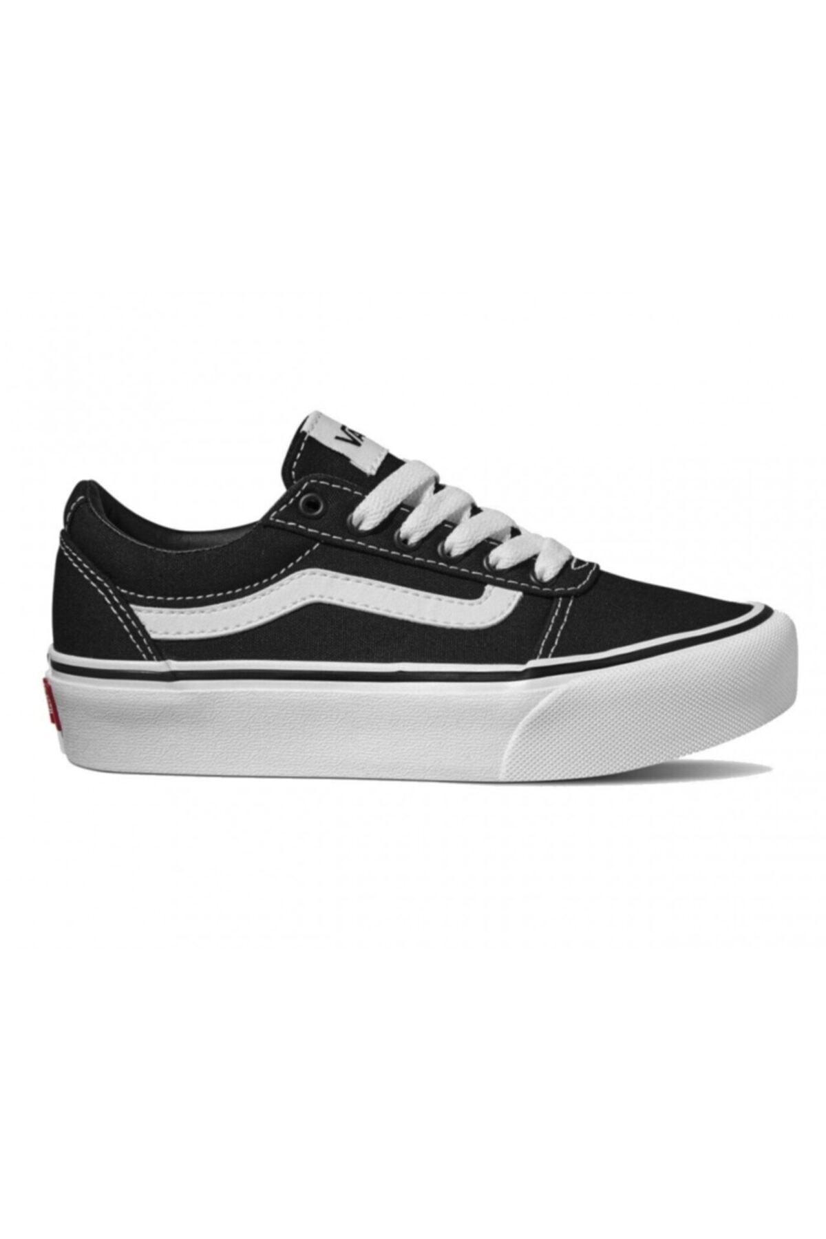 Vans My Ward Platform Kadın Siyah Sneaker Ayakkabı Vn0a4uuv1871 1