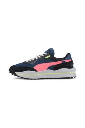Puma Unisex Mavi Bağcıklı Sneaker 37338102