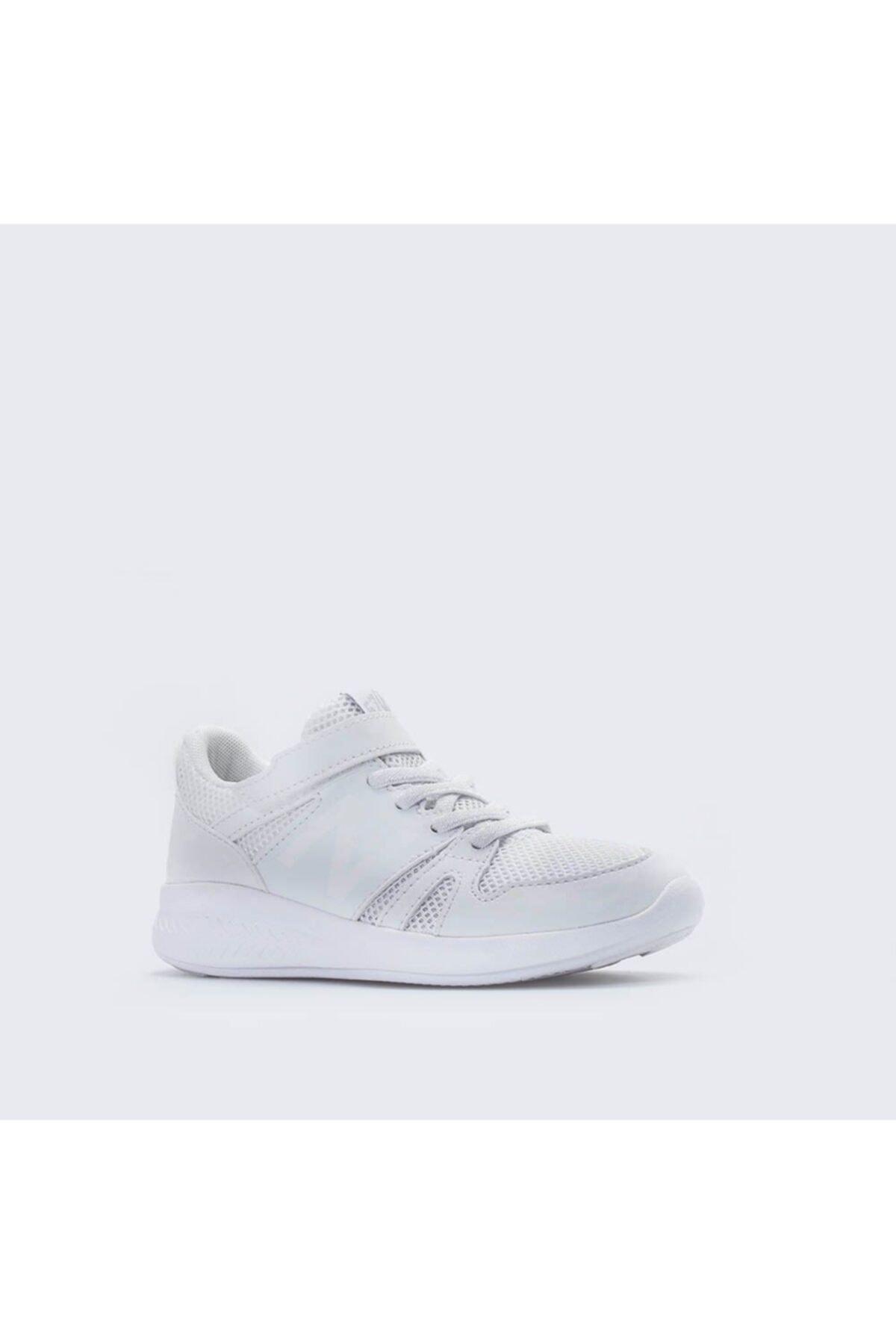New Balance Unisex Çocuk Beyaz Sneaker Ayakkabı 570 1