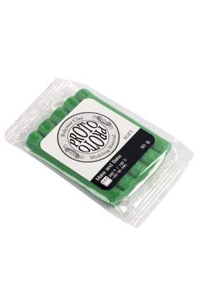 PROTO Koyu Yeşil Polimer Kil 50 Gram