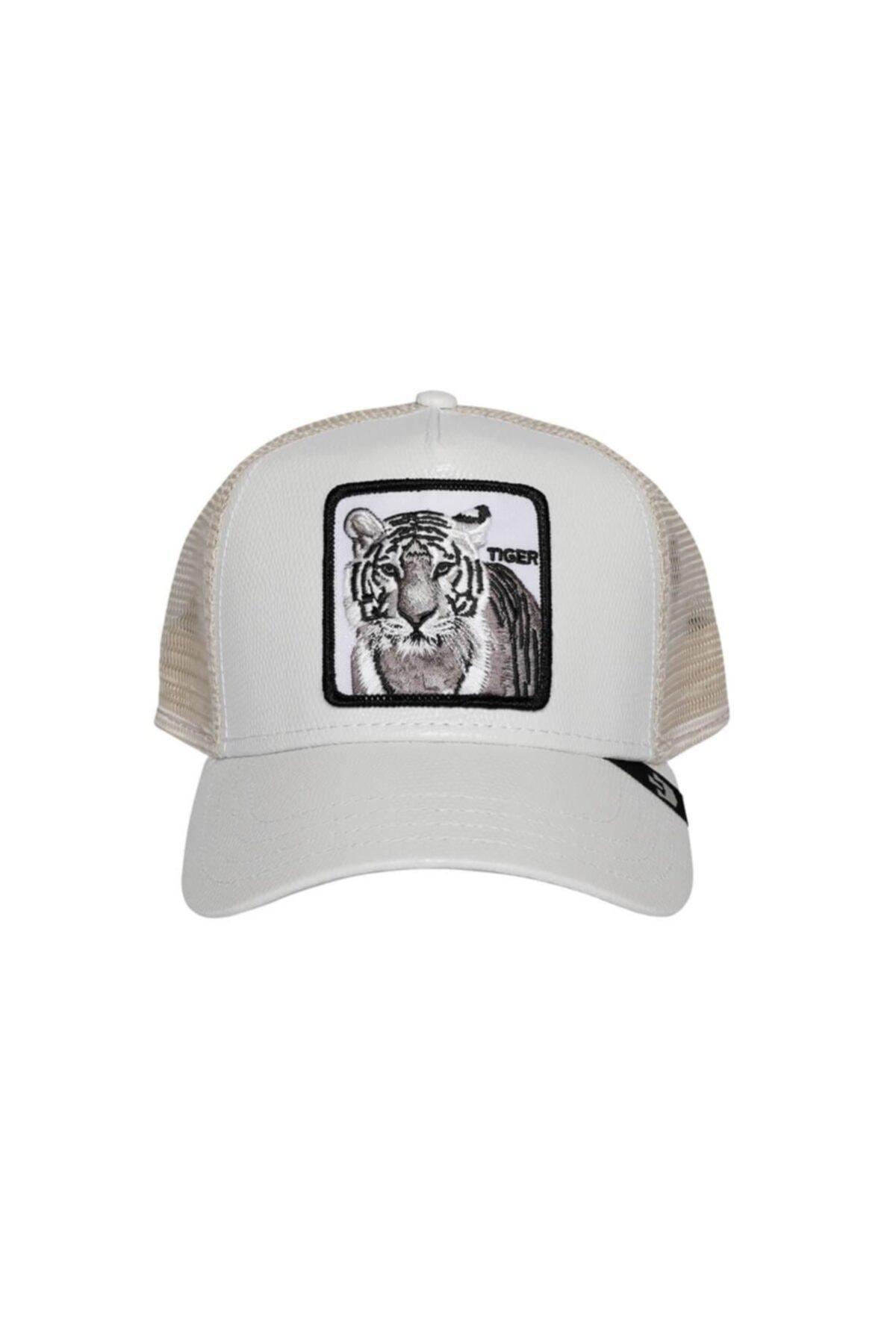 Goorin Bros Beyaz Killer Tiger Şapka 1