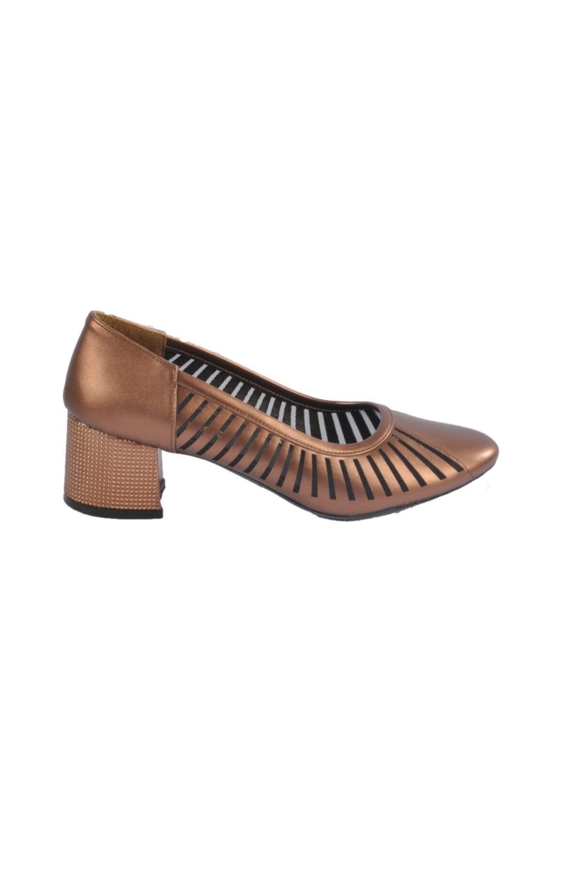 Maje 2127 Bakır Kadın Topuklu Ayakkabı 2
