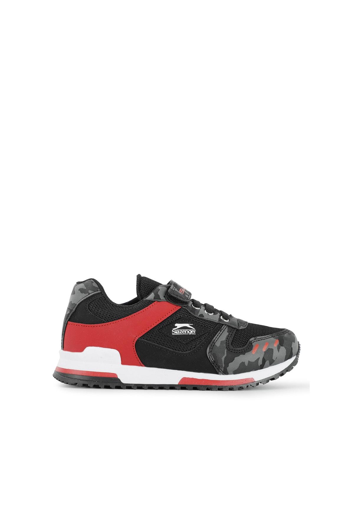 Slazenger EDMOND Sneaker Çocuk Ayakkabı Siyah Kamuflaj SA11LF013 1