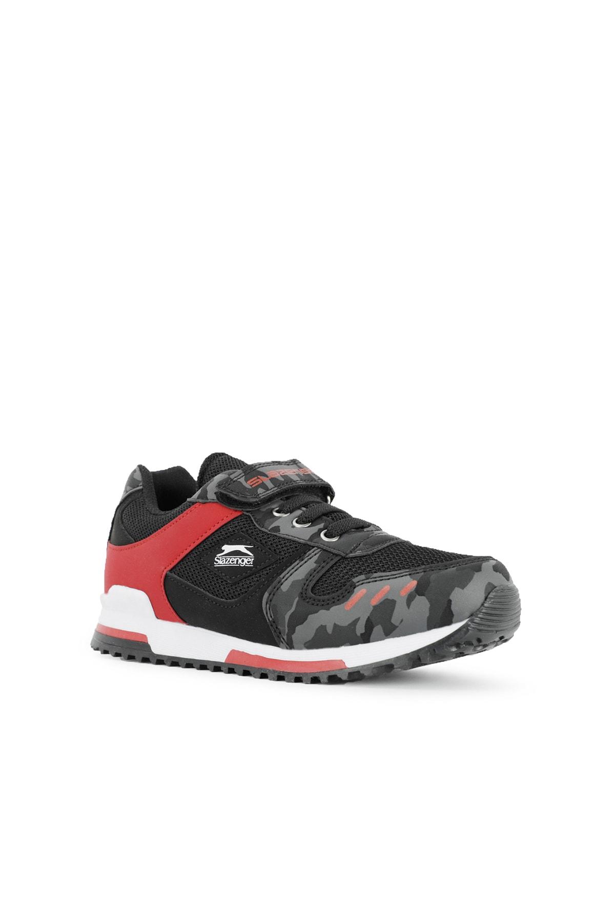 Slazenger EDMOND Sneaker Çocuk Ayakkabı Siyah Kamuflaj SA11LF013 2