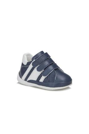 Vicco April Erkek Ilk Adım Lacivert/beyaz Hakiki Deri Günlük Ayakkabı