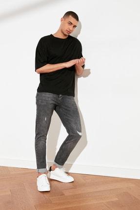 TRENDYOL MAN Antrasit Erkek Skinny Fit Jeans TMNSS21JE0124
