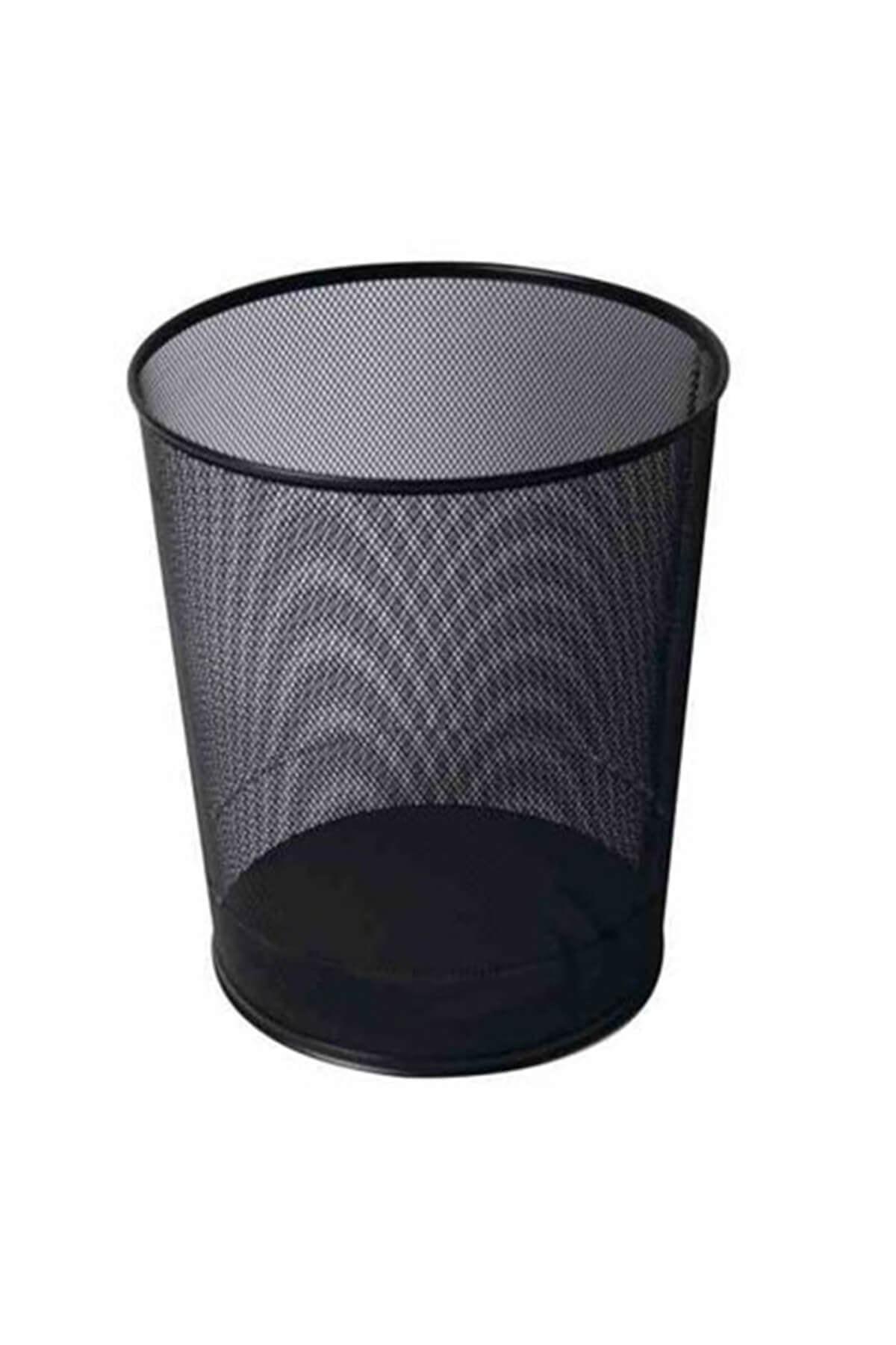Kraft File Çöp Kovası Siyah Fx 1