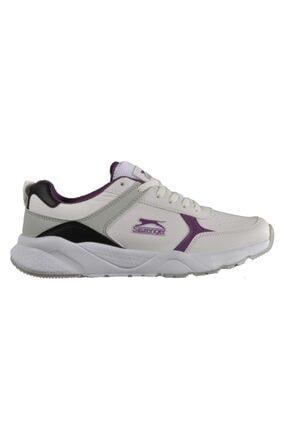 Slazenger Ikarus Sneaker Kadın Ayakkabı Beyaz / Mor