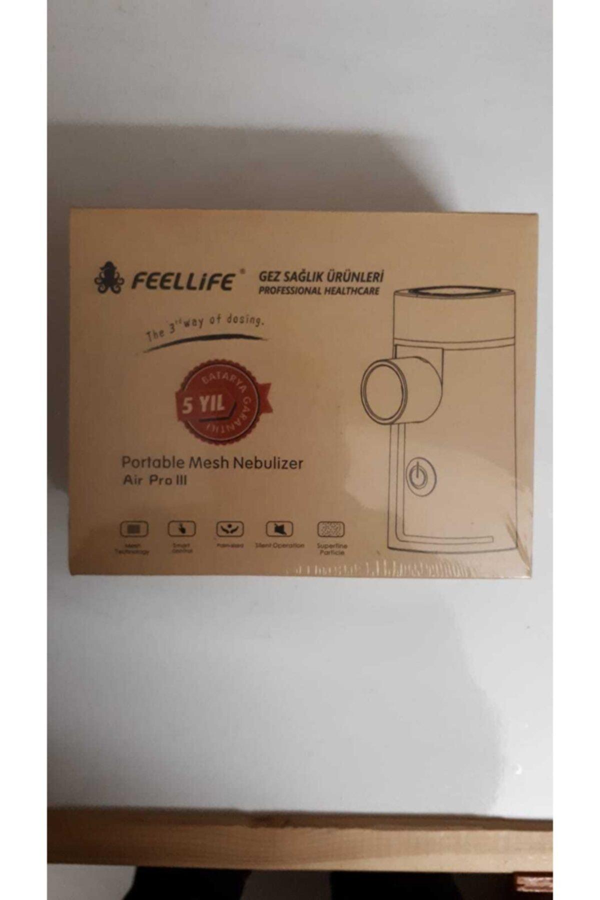 FEELLİFE Pro Nebulizator Yeni Teknoloji El Tipi Mini Mobil Şarjlı 2