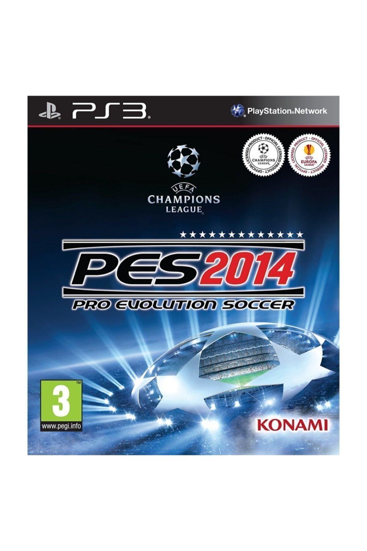 KONAMI Pes 2014  - Türkçe Menü Ps3 Oyun 1