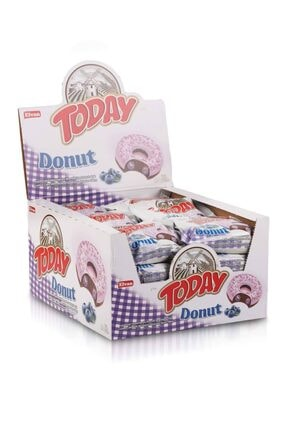 Elvan Today Donut Kek Yabanmersinli 40gr. 24 Adet (1 Kutu)