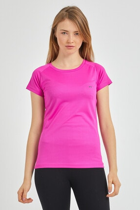 Slazenger Relax Kadın T-shirt Fuşya St11te050