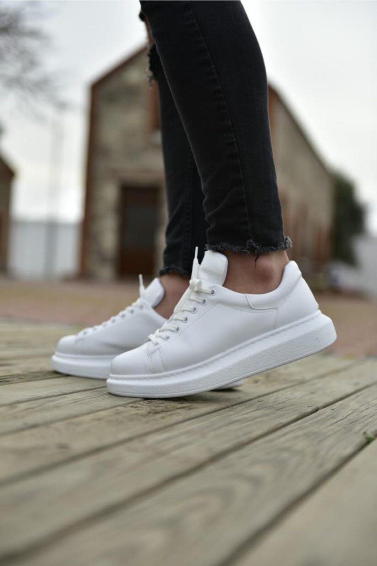 Chekich Ch Ch257 Bt Erkek Ayakkabı Beyaz 1