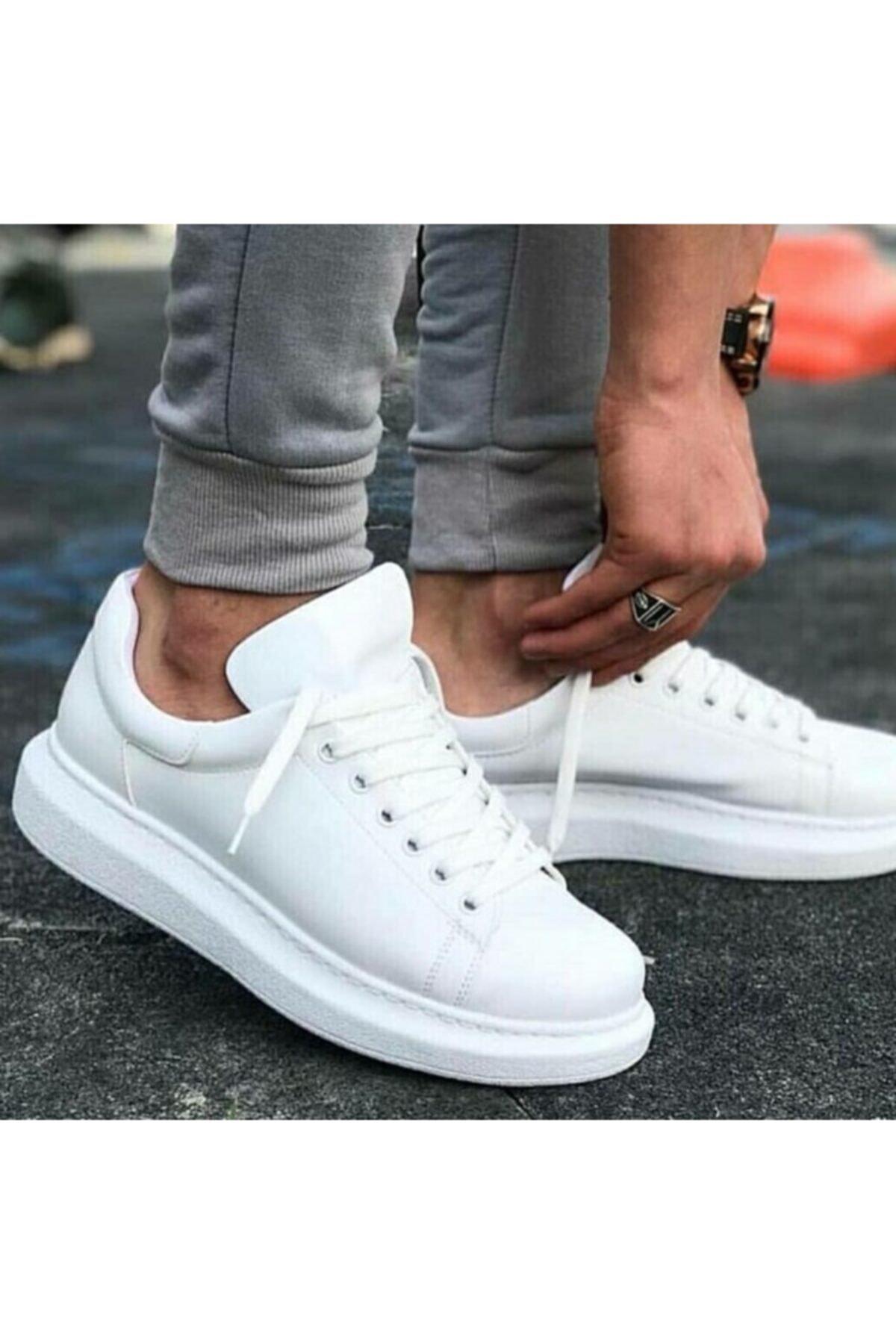 Chekich Ch Ch257 Bt Erkek Ayakkabı Beyaz 2