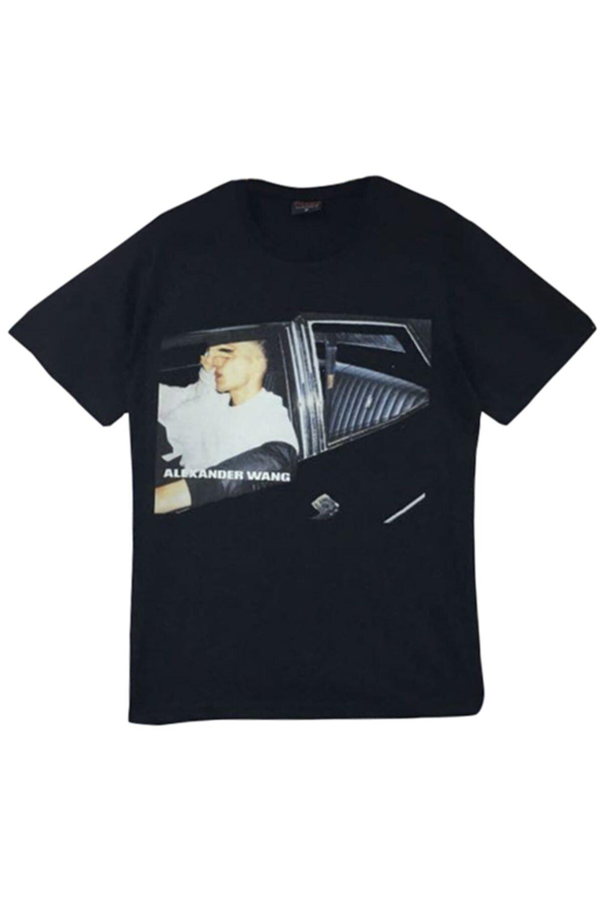 fame-stoned Alexander Wang Baskılı T-shirt 1