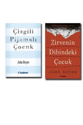Tudem Yayınları John Boyne 2 Kitap Set Çizgili Pijamalı Çocuk Zirvenin Dibindeki Çocuk