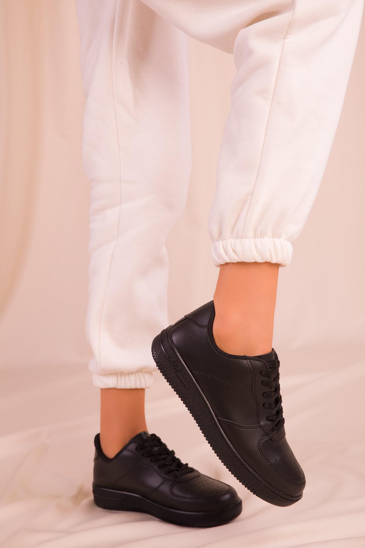 SOHO Siyah Kadın Sneaker 14361 2