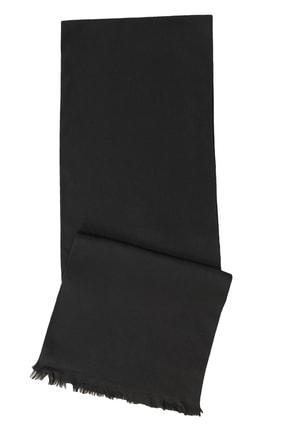 ALTINYILDIZ CLASSICS Erkek Siyah Siyah Örme Atkı