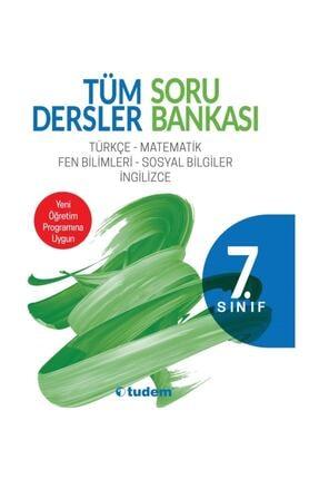 Tudem Yayınları 7.sınıf Tüm Dersler Soru Bankası