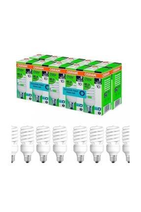 Osram 10'lu Paket 23w Tasarruflu Ampul Beyaz Işık E27 Duy 2700k 10lu Paket