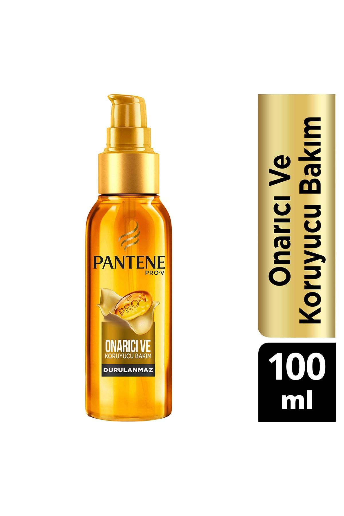 Pantene Keratin Özlü Onarıcı E Vitaminli Saç Bakım Yağı 100 ml 1