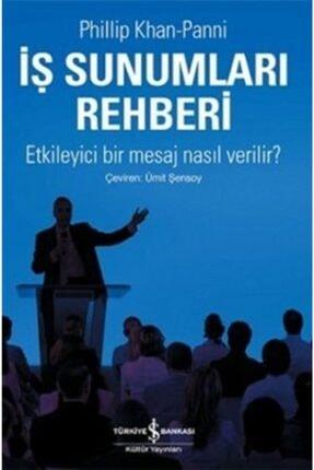 İş Bankası Kültür Yayınları Iş Sunumları Rehberi