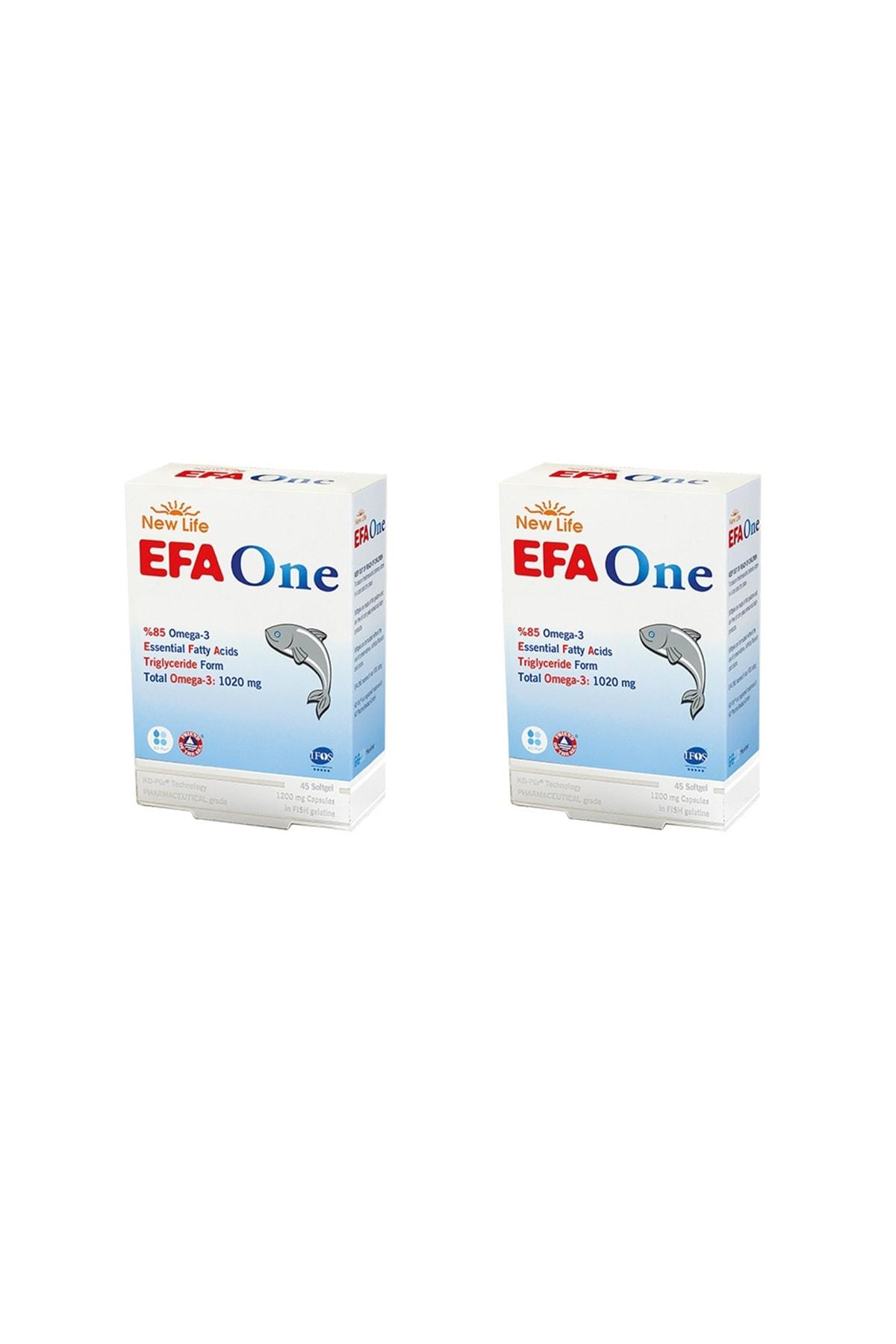 New Life Efa One 45 Kapsül 2'li Paket 1