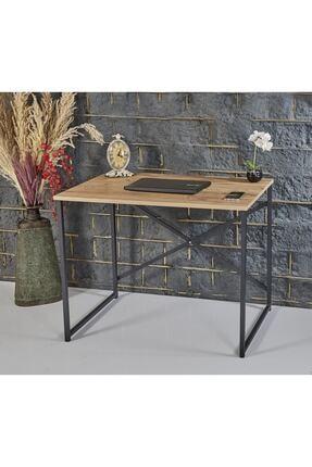 RuponHome Rupon Home Çalışma-laptop Masası Antik Çam Desenli 90x60