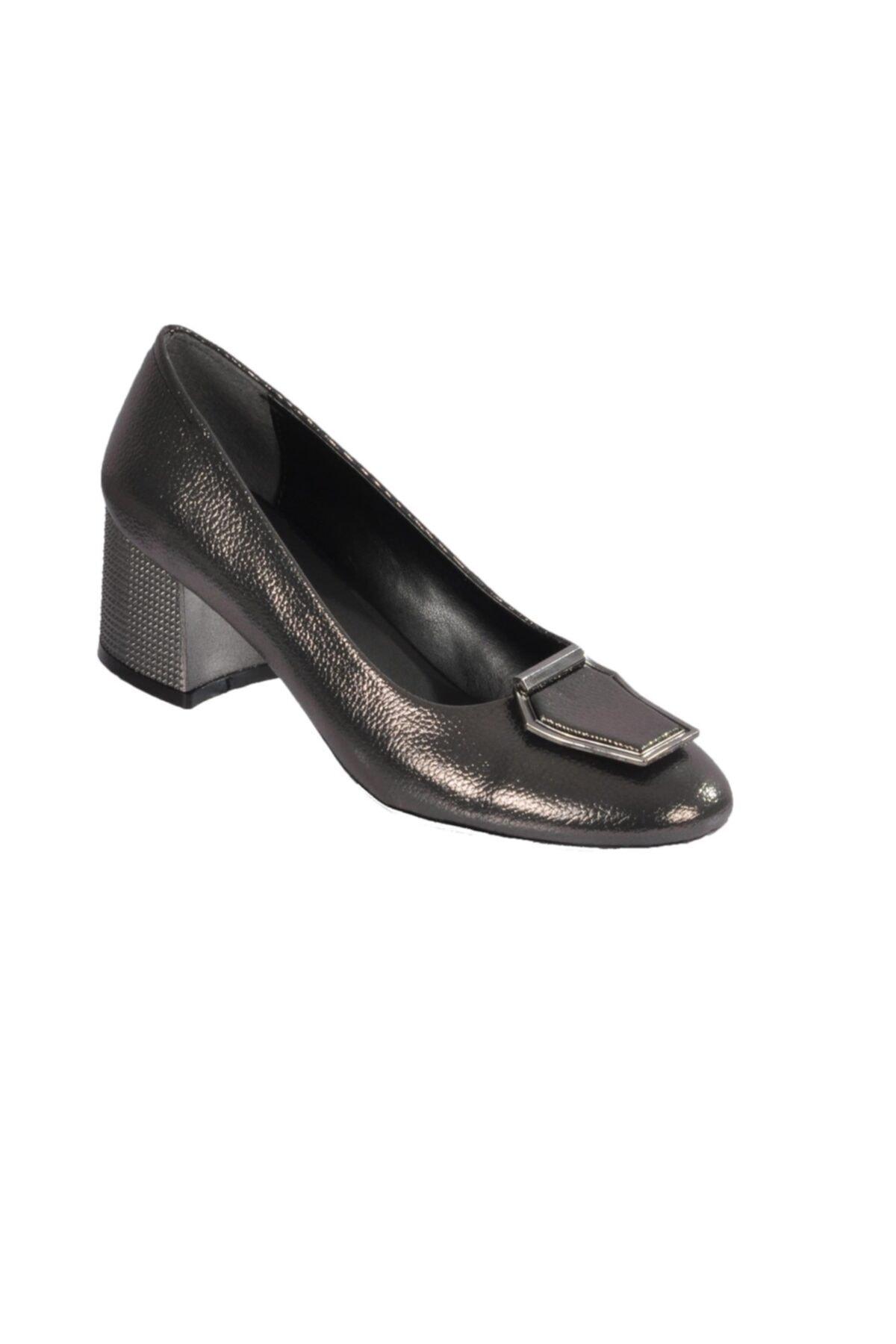 Maje 2122 Platin Kadın Topuklu Ayakkabı 1