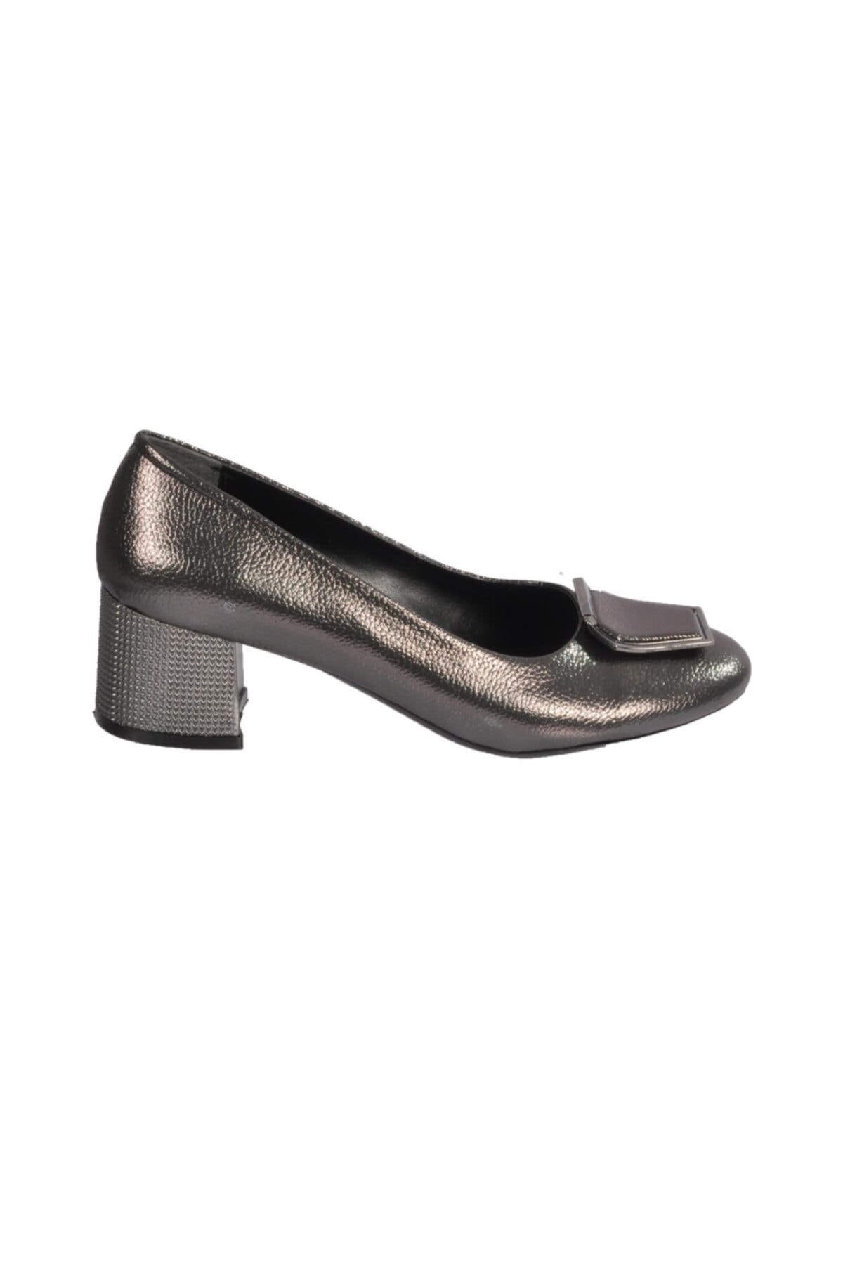Maje 2122 Platin Kadın Topuklu Ayakkabı 2