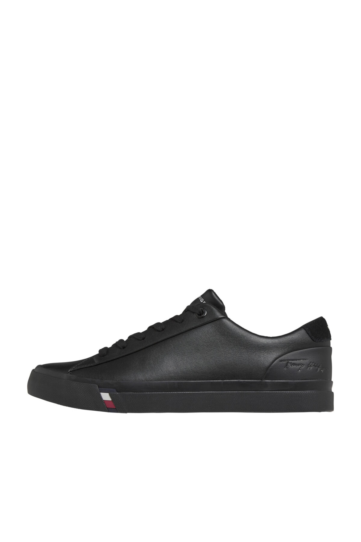 Tommy Hilfiger Erkek Corporate Leather Sneaker 1