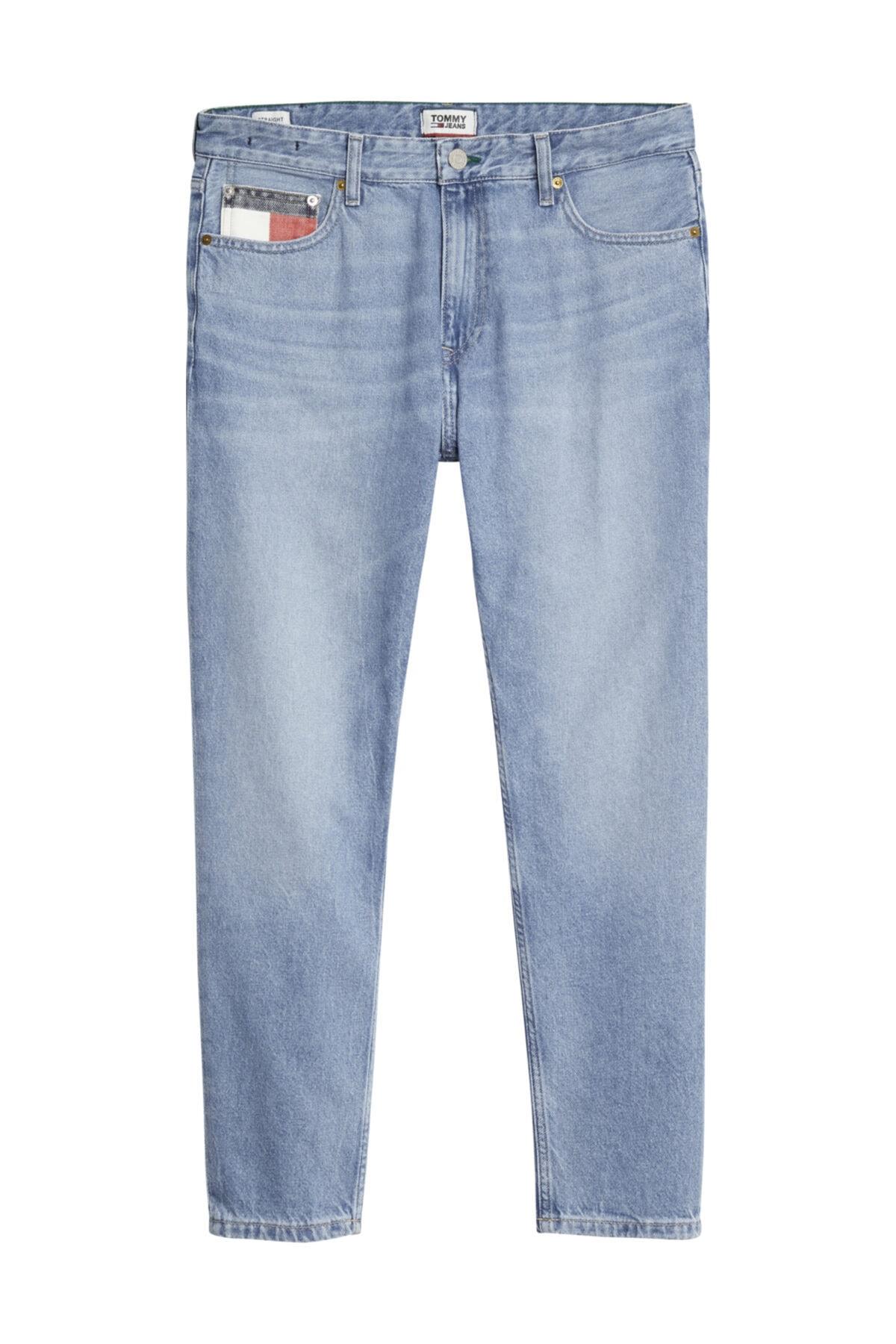 Tommy Hilfiger Erkek Denim Jeans Dad Jean Strght Svlb DM0DM08270 1