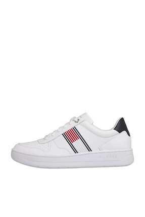 Tommy Hilfiger Erkek Th Basket Low Cupsole Sneaker