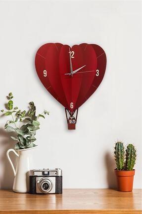 Sokaktaki Hediyem Kalp Ve Aşk Temalı Sallanır Sarkaçlı Duvar Saati