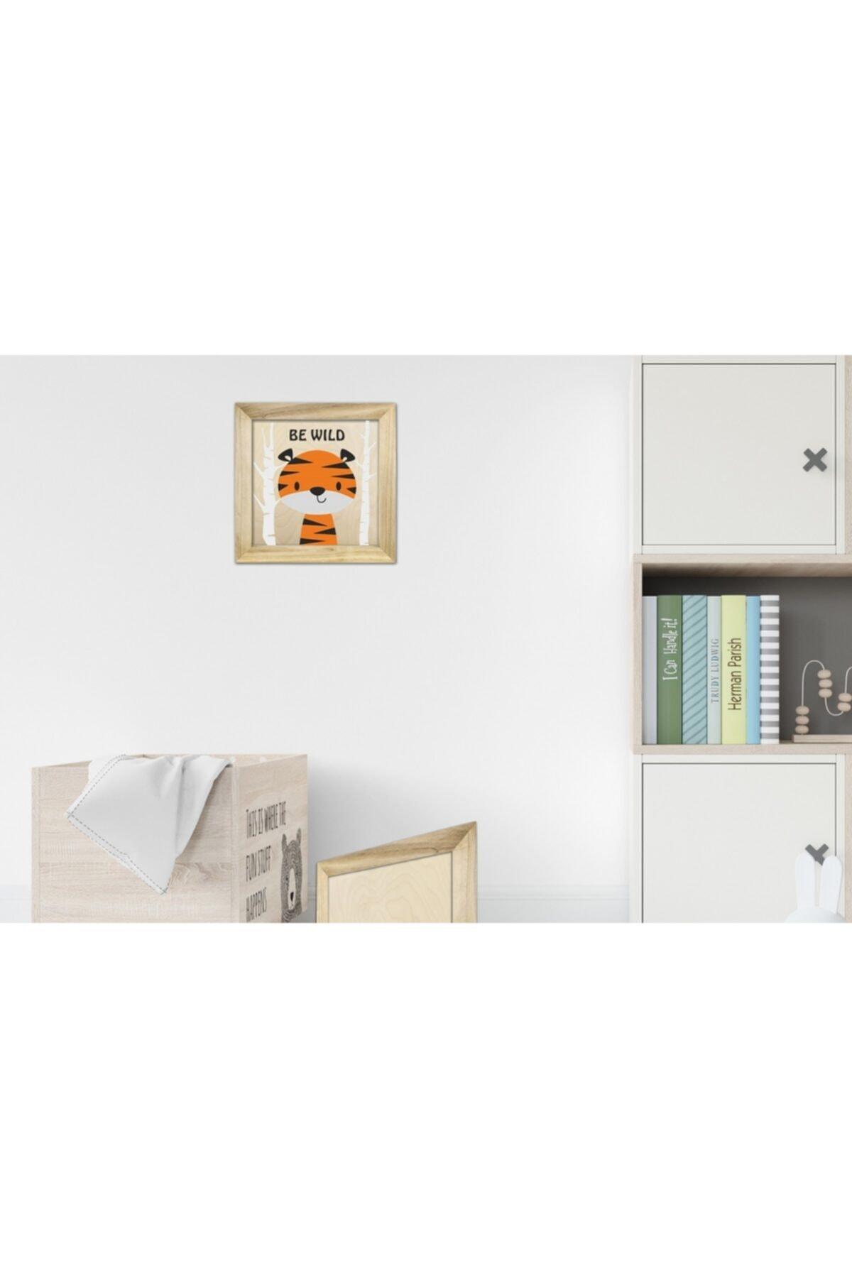 Lapis Home Decor Sayılarla Ahşap Boyama Seti Çerçeveli Tablo Çocuk Ve Bebek Odası 2