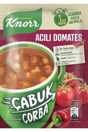 Knorr Çabuk Çorba Acılı Domates 22 Gr X 24 Adet