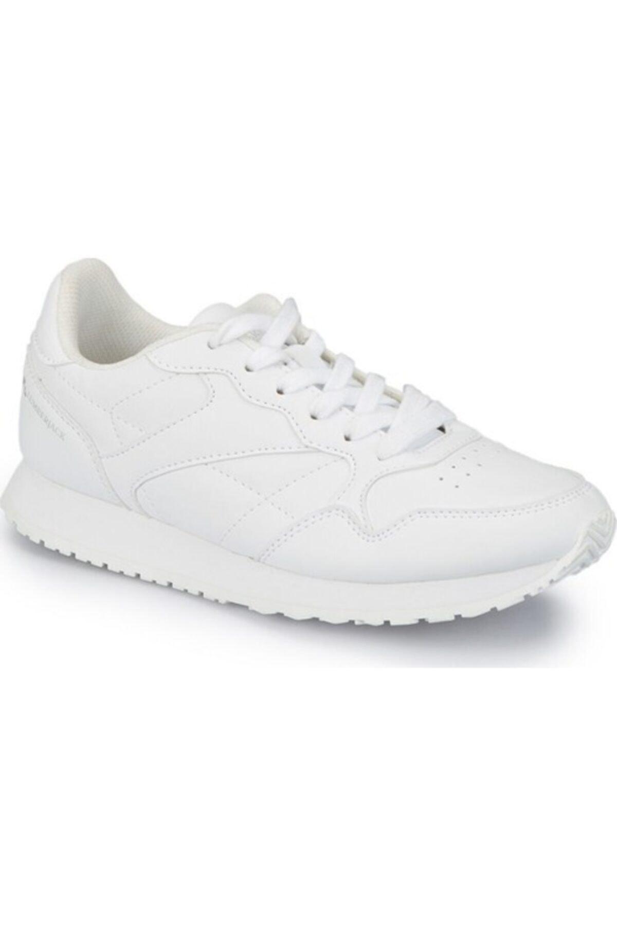 lumberjack HELLO WMN Beyaz Kadın Sneaker 100298984 2